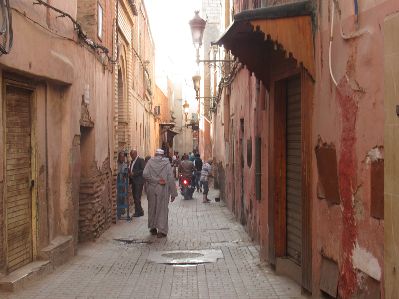 Gira en Marruecos